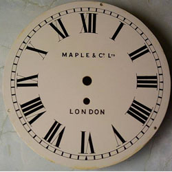 The dial says Maples but they are not the maker